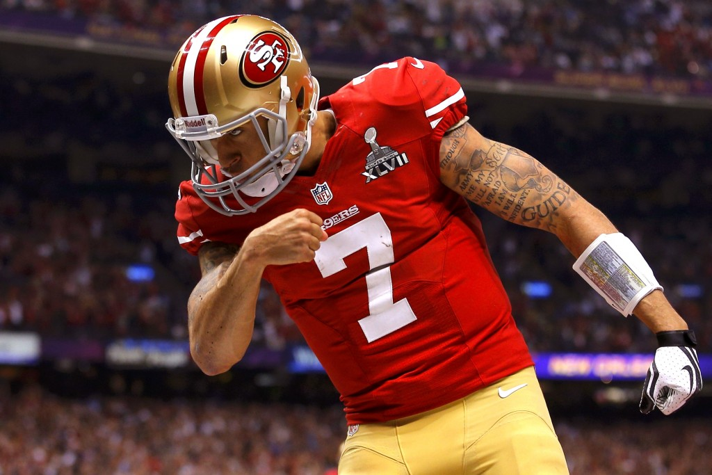 Don't worry brah, you still got that one time you beat out Alex Smith.